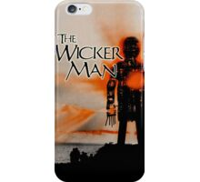 An Appointment With the Wicker Man iPhone Case/Skin