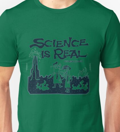 SCIENCE IS REAL SCIENCE MARCH THEY MIGHT BE GIANTS Unisex T-Shirt