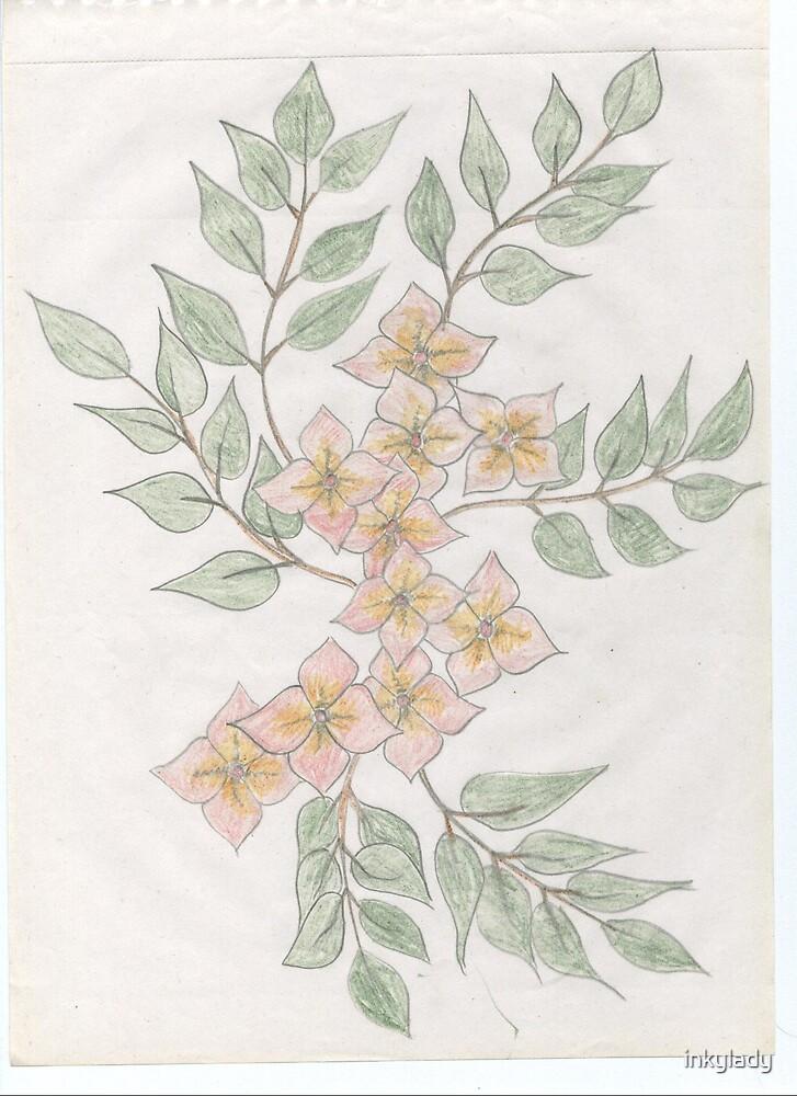 yellow jasmine by inkylady