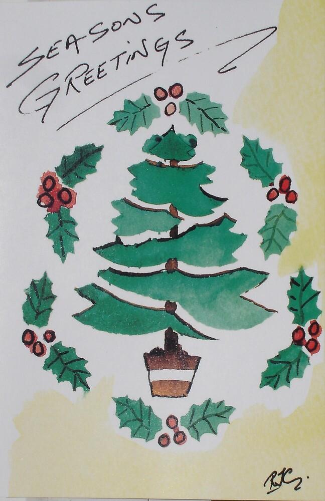 Seasons Greetings by Roger Cummiskey