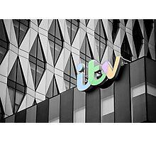Colour TV Photographic Print
