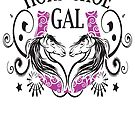 HORSESHOE GAL, LOMPOC HORSESHOE PITCHING by ABSTRACT
