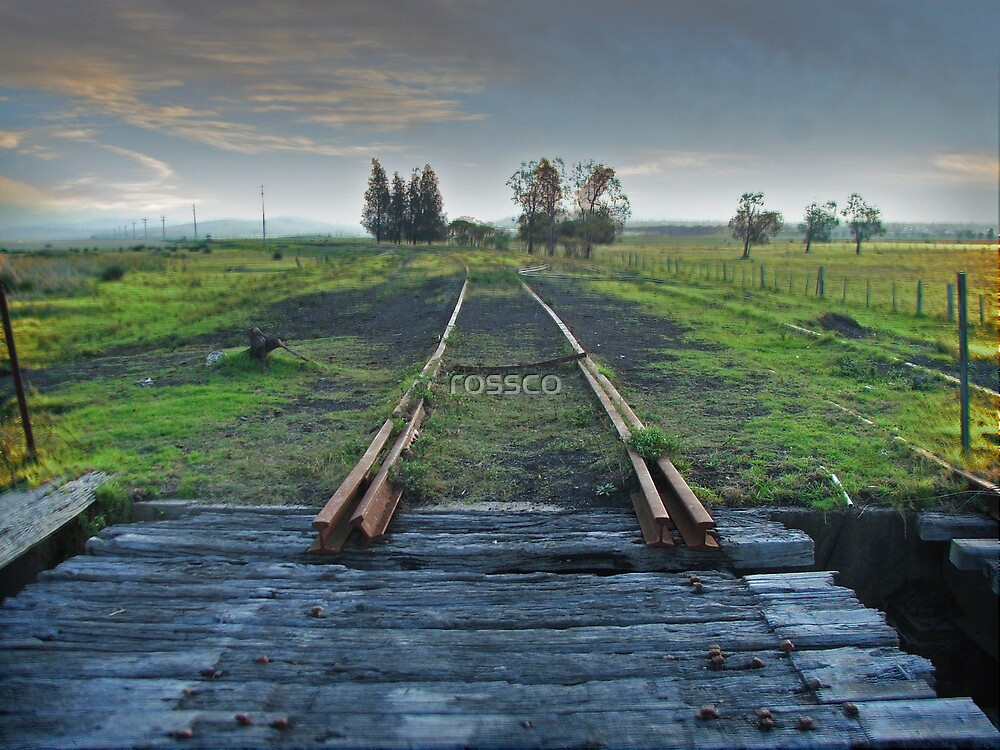 End Of The Line by rossco