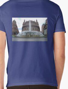 Piazza De Ferrari Mens V-Neck T-Shirt