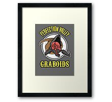 Perfection Valley Graboids Framed Print
