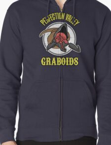 Perfection Valley Graboids Zipped Hoodie