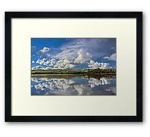 Lake Meadowbank Reflections Framed Print