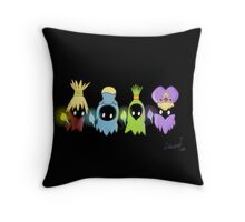 Poe Sisters Throw Pillow