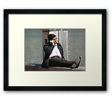 Business or pleasure? Framed Print