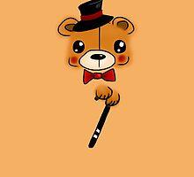 Top Hat Beary by Emma  Mazzuca