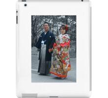 Japan wedding iPad Case/Skin