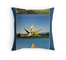 At the going down of the sun... Throw Pillow