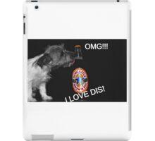 Dog alcohol  iPad Case/Skin