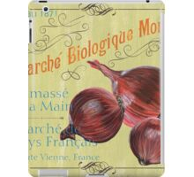 Marche Biologique Monde iPad Case/Skin