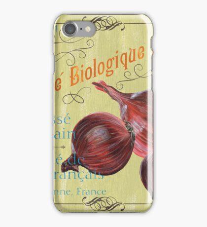 Marche Biologique Monde iPhone Case/Skin
