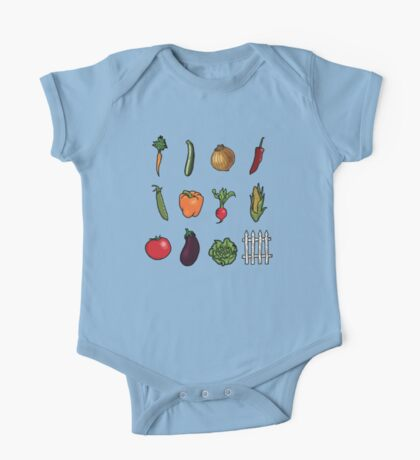 Vegetable Garden One Piece - Short Sleeve