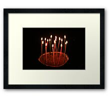 The sweet coming of age Framed Print