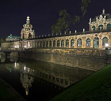 Zwinger Palace, Dresden by Andreas Mueller