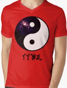 TYWG- Yin Yang Mens V-Neck T-Shirt