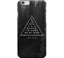 Woods -- Bon Iver iPhone Case/Skin