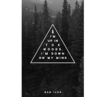 Woods -- Bon Iver Photographic Print