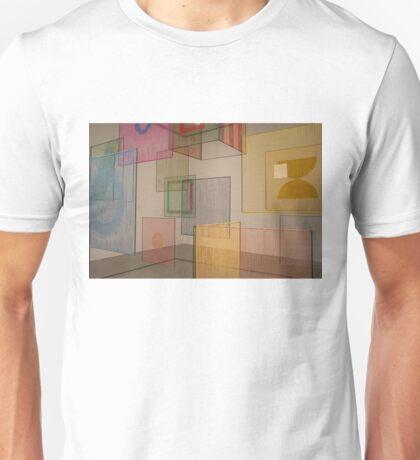 coloured panels Unisex T-Shirt