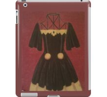 Black and Gold Dress iPad Case/Skin