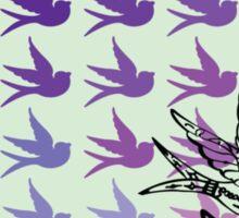 Green Birds Sticker