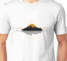 Sydney City Boat Silhouette Unisex T-Shirt