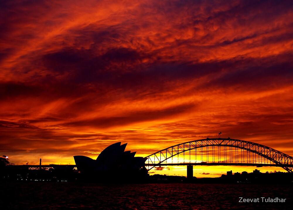 Golden Sunset4 by Zeevat Tuladhar