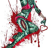 Zombie Girl by mougezz