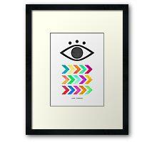 Look Forward Framed Print