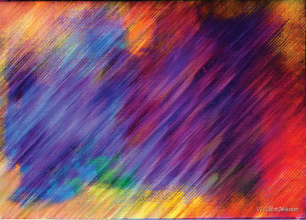 Abstract Rainbow by William Martin