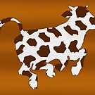 Cow With Brown Spots   by Gravityx9