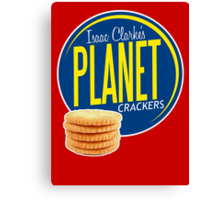 Isaac Clarke's Planet Crackers Canvas Print