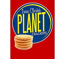 Isaac Clarke's Planet Crackers Photographic Print