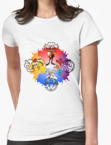 THE BOSSES OF GAMING Womens Fitted T-Shirt