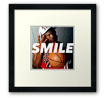 MJ Rings / Smile Design 2014 Framed Print