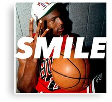 MJ Rings / Smile Design 2014 Canvas Print