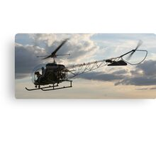 Into Action Canvas Print