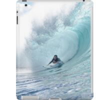 Surf Legend Rochelle Ballard Surfing Hawaiian Wave  iPad Case/Skin