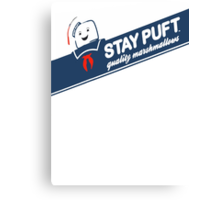 Stay Puft Marshmallow T-shirt Canvas Print
