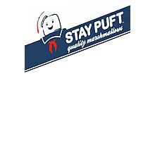 Stay Puft Marshmallow T-shirt Photographic Print