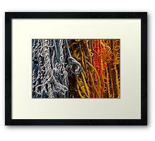 knotted art Framed Print
