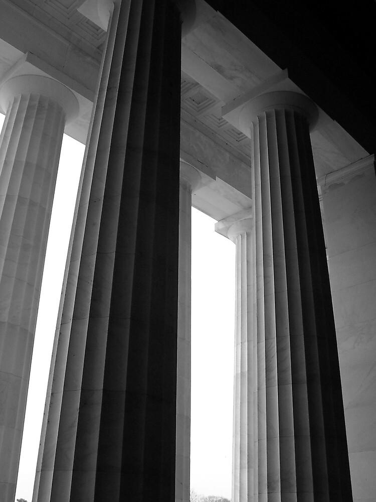 Greek Columns by CynthiaRenee