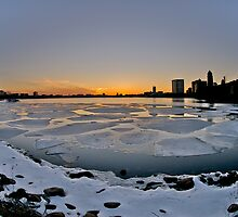 Boston on ice by Keith Poynton
