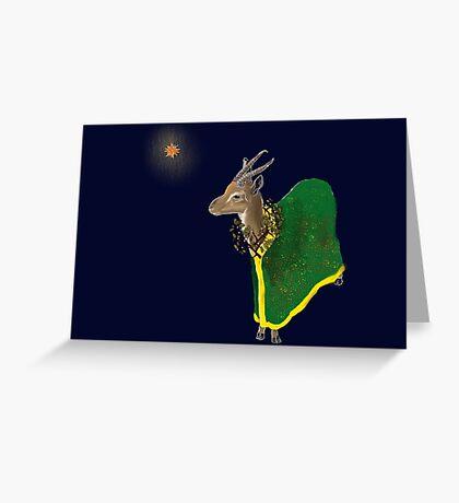 Three Kings: Balthazar Greeting Card