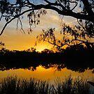 Sunset at Horseshoe Lagoon by D-GaP