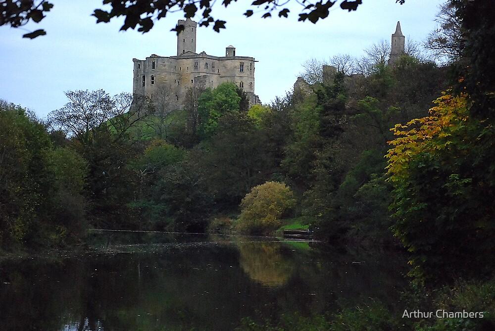 "A 'bit"" of Heaven.........Warkworth Castle....Northumberland.. by Arthur Chambers"