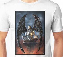 Robot Angel Painting 006 Unisex T-Shirt